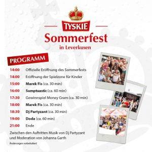 TYSKIE-Sommerfest_Leverkusen_Programm
