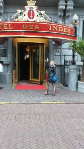 Jeden z moich ulubionych hoteli w Hadze, gdzie odbywalo sie mnostwo spotkan Expatow